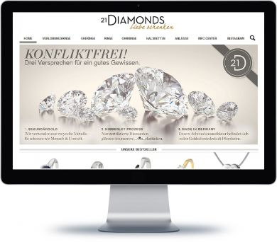21Diamonds Onlineshop