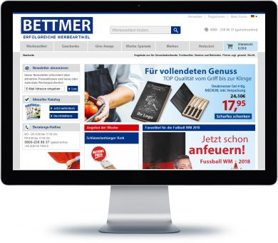BETTMER Onlineshop