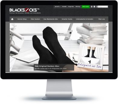 Blacksocks Onlineshop