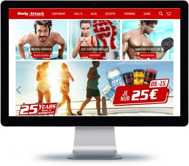 Body Attack Onlineshop