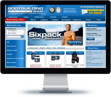 Bodybuilding.de Onlineshop