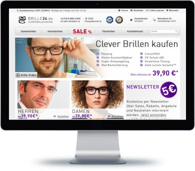 Brille24 Onlineshop
