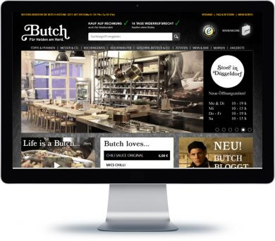 Butch Onlineshop