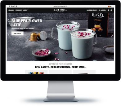 Café Royal Onlineshop