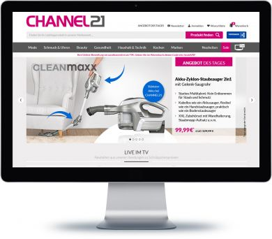 Channel21 Onlineshop