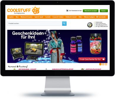 CoolStuff Onlineshop