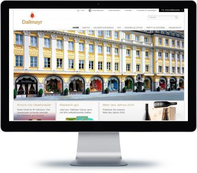 Dallmayr Onlineshop