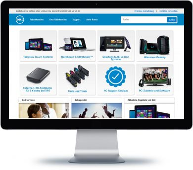 Dell Onlineshop