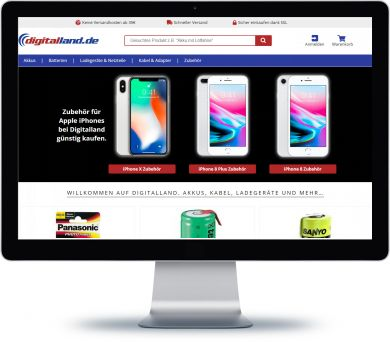 Digitalland Onlineshop