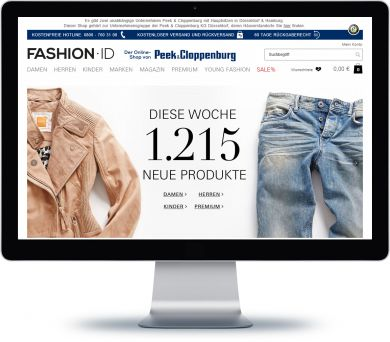 Fashion ID Onlineshop