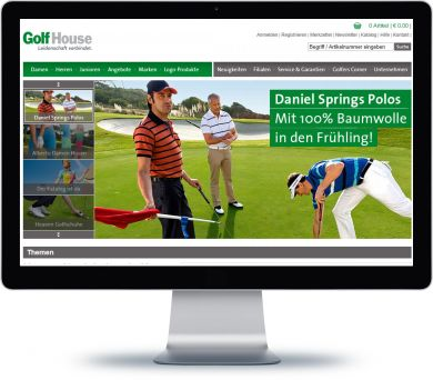 Golf House Onlineshop