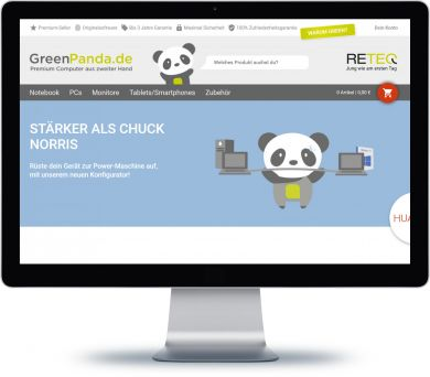 GreenPanda Onlineshop