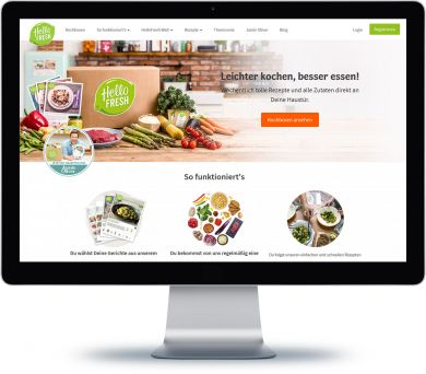 HelloFresh Onlineshop