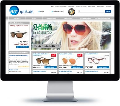 Hit-Optik Onlineshop