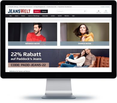 Jeanswelt Onlineshop