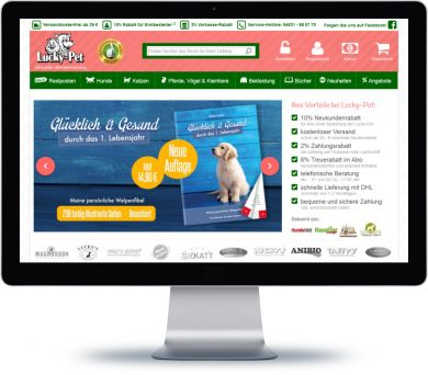 Lucky-Pet Onlineshop