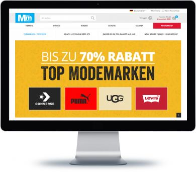 MandMDirect Onlineshop