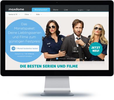 maxdome Onlineshop