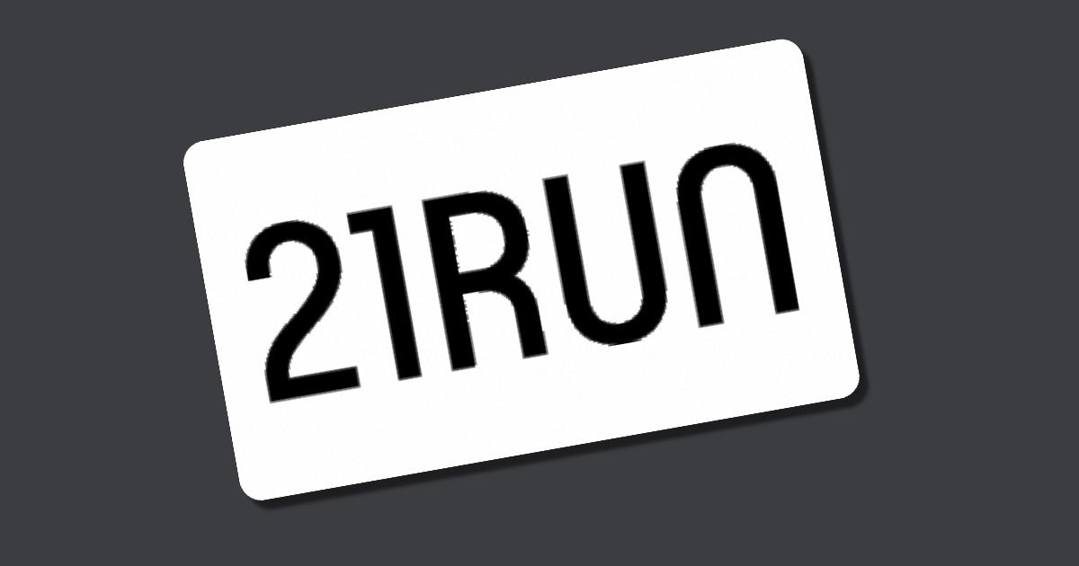 Gutscheincode 21run