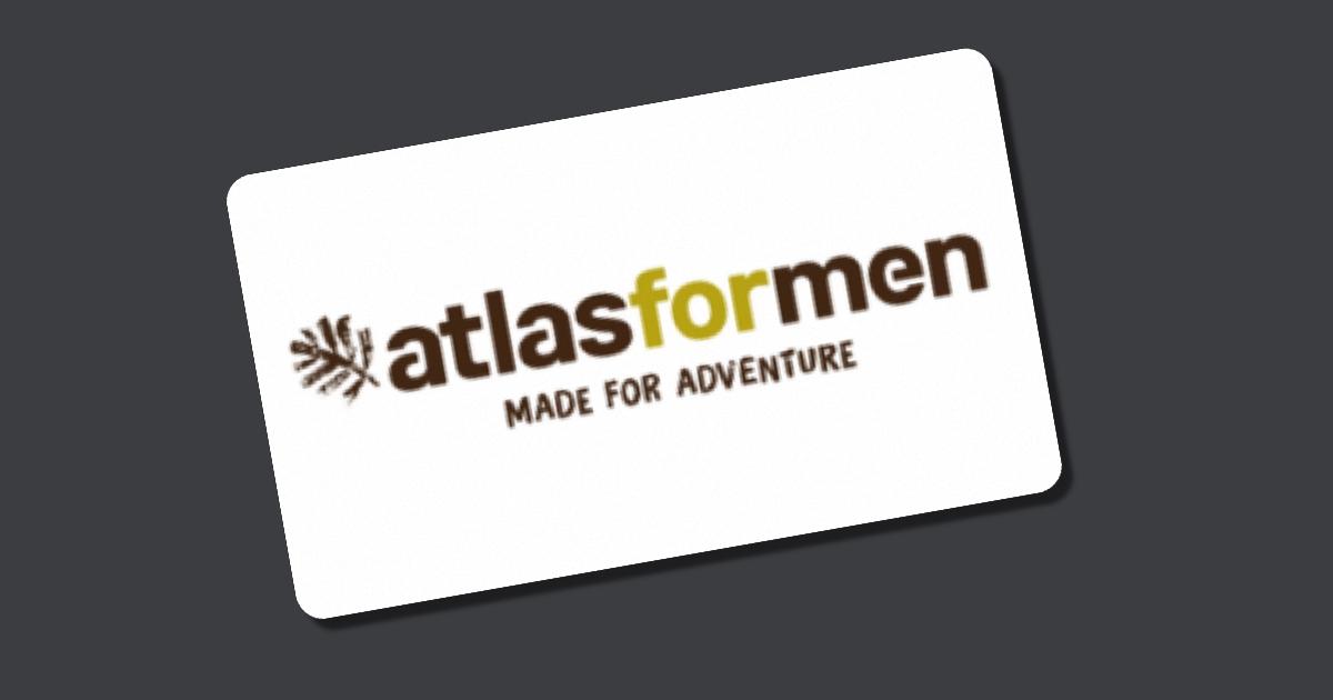Gutschein atlas for men