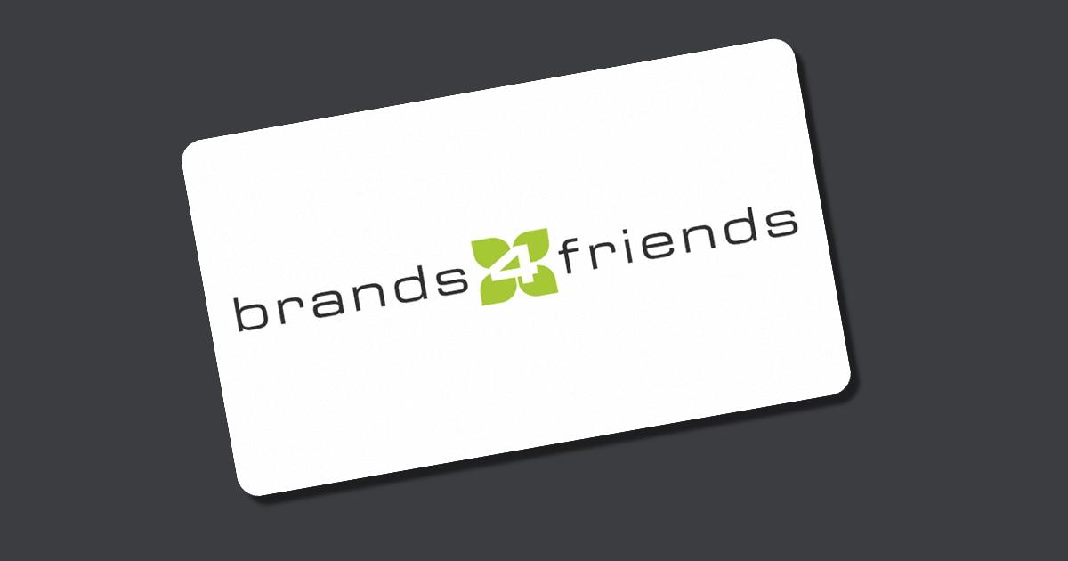 gutschein brands4friends