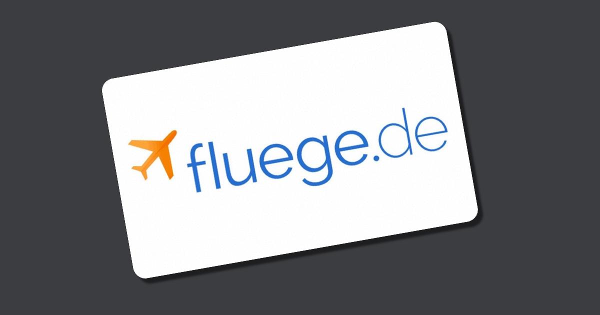 fluege.de Gutschein - 50€ Rabatt im Juni 2020