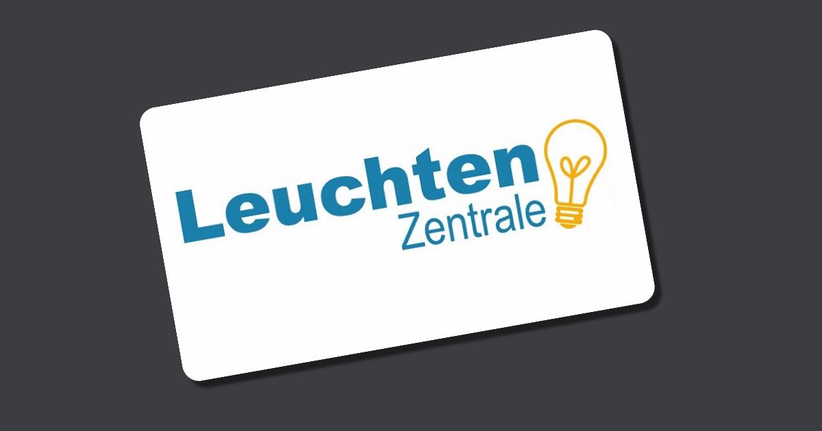 Leuchtenzentrale gutschein mai 2018 for Lampen und leuchten gutschein