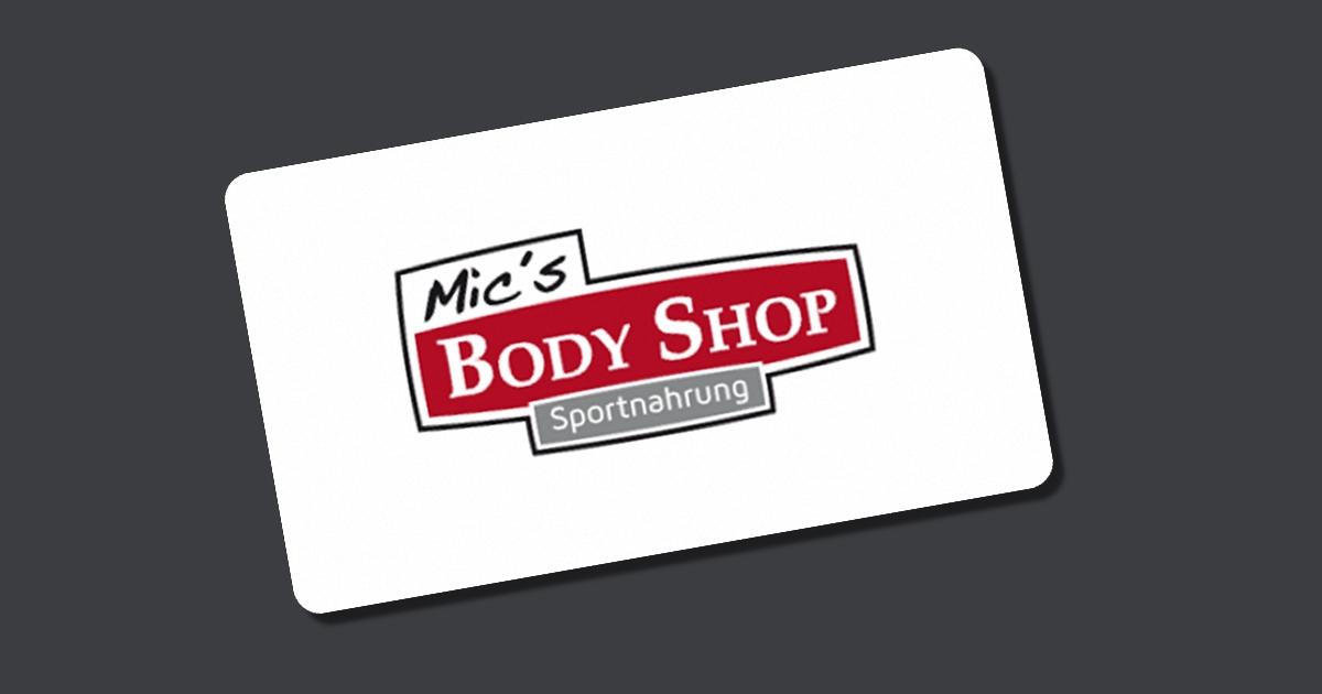 Mic's Body Shop Gutschein - 10% Rabatt im Dezember 2020