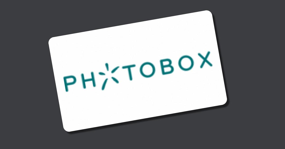 Gutschein Photobox