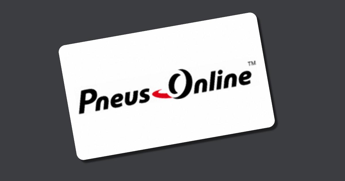 Pneus Online Gutschein