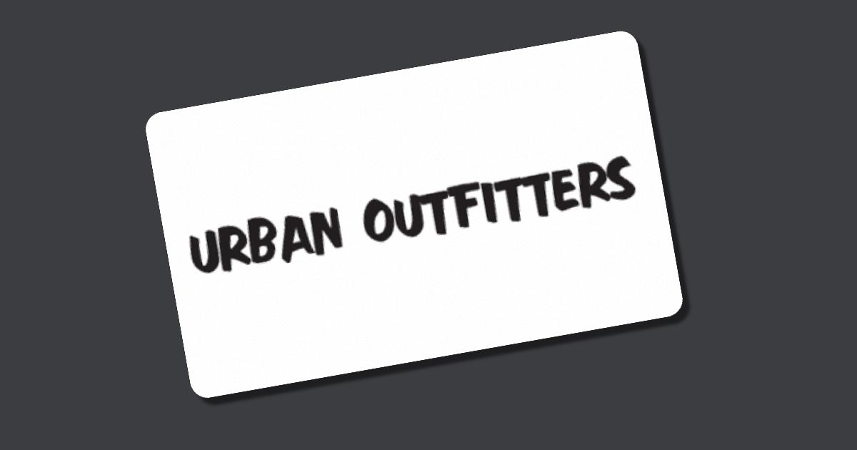 Urban Outfitters Gutschein Kaufen