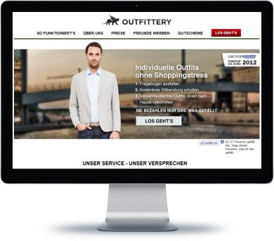 Outfittery Onlineshop