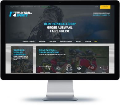 Paintball Sports Onlineshop