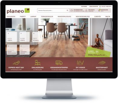 Planeo Onlineshop