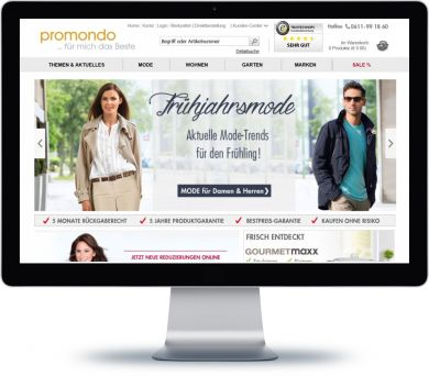 Promondo Onlineshop