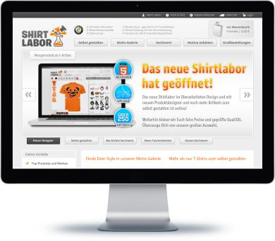 Shirtlabor Onlineshop