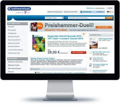 Softwareload Onlineshop