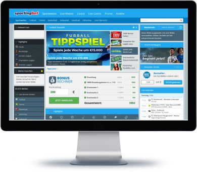 Sportingbet Onlineshop