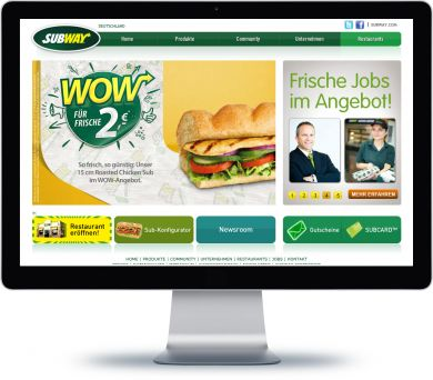 SUBWAY Onlineshop