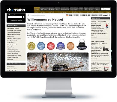 Thomann Onlineshop