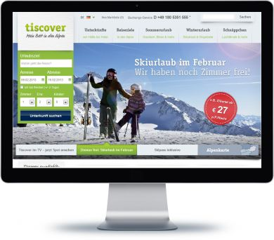 Tiscover Onlineshop