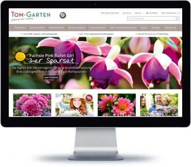 Tom-Garten Onlineshop