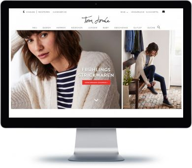 Tom Joule Onlineshop