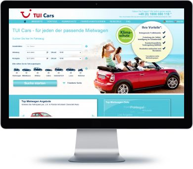 TUI Cars Onlineshop